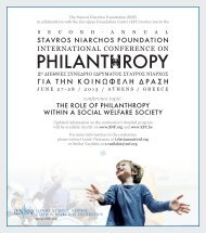 The Role of PhilanThRoPy wiThin a Social welfaRe SocieTy