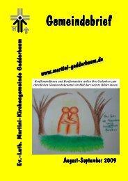 """Ihr """"Taxi zum Gottesdienst"""" - Ev.-Luth. Martini-Kirchengemeinde ..."""