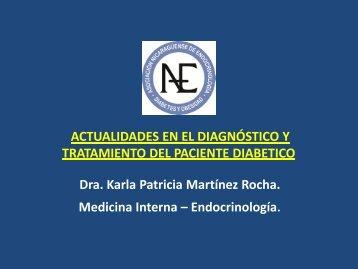 actualidades en el diagnostico y tratamiento del paciente diabetico