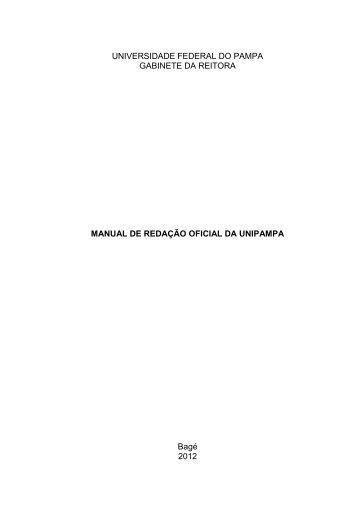 UNIVERSIDADE FEDERAL DO PAMPA GABINETE DA ... - Unipampa