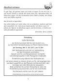 feiern · singen · beten - Mainburg Evangelisch - Seite 5