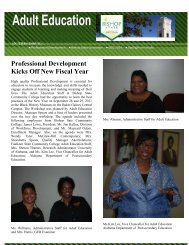 Professional Development Kicks Off New Fiscal Year - Bishop State ...