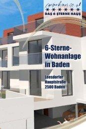6-Sterne- Wohnanlage in Baden - meinhaus.co.at
