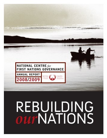 2008/09 Annual Report - National Centre for First Nations Governance