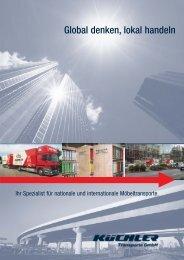 Global denken, lokal handeln - KÜCHLER Transporte GmbH