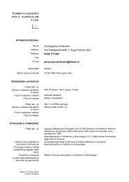 Giuseppina Carlevaro Via Fatebenefratelli 1, Acqui Terme ... - ASL AL