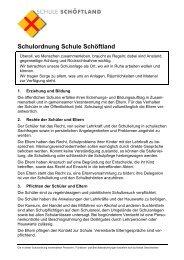 Seminar SPL /SL im Armee ... - Schule Schöftland