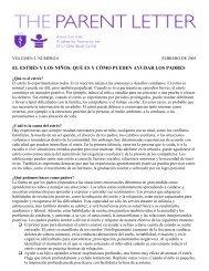 EL ESTRÉS Y LOS NIÑOS: QUÉ ES Y CÓMO ... - AboutOurKids.org