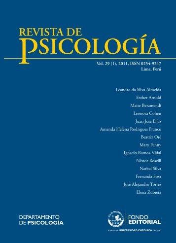 Descargar este fichero PDF - Revistas PUCP - Pontificia ...