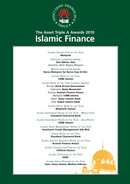 Islamic Finance - The Asset