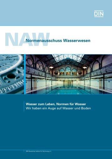 NAW Immagebroschüre 2013 (654.3 KB) - DIN Deutsches Institut für ...