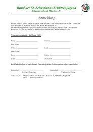 Anmeldung Zeltlager 2008 - Schützen im Bezirksverband Kleve