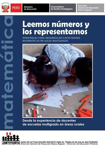 Leemos números y los representamos - La Educación Básica ...