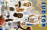 Game Program - Judson University Athletics