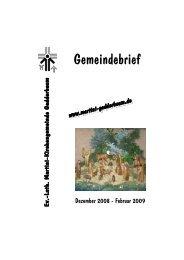 Gemeindebrief Dezember 08 Drucker fertig.pub - Ev.-Luth. Martini ...