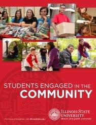 StudentS engaged - Media Relations - Illinois State University
