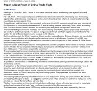 Paper Is Next Front in China Trade Fight - Uswa12943.org