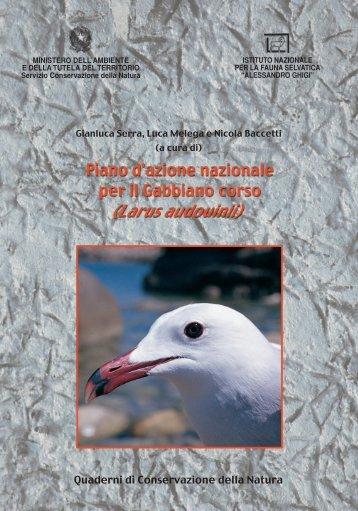Direzione per la Conservazione della Natura-QCN-Piano d'azione ...