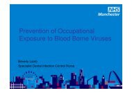 Prevention of Occupational Exposure to Blood Borne Viruses