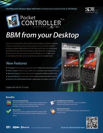 BBM from your Desktop - Soti