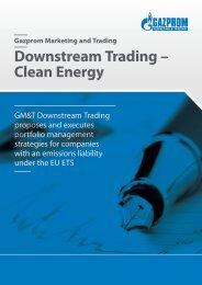 Downstream Trading - Clean Energy.pdf - Gazprom Marketing ...