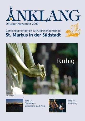 Auch am Welfenplatz - Retemeyerstr. 1- DER ... - St.-Markus