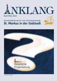 Kleider- u. Schuh- Sammelaktion - St.-Markus