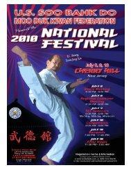 2010 Nat Program - US Soo Bahk Do Moo Duk Kwan Federation Wiki