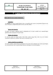 - CARACTERISTIQUES TECHNIQUES - Mercuriale.net