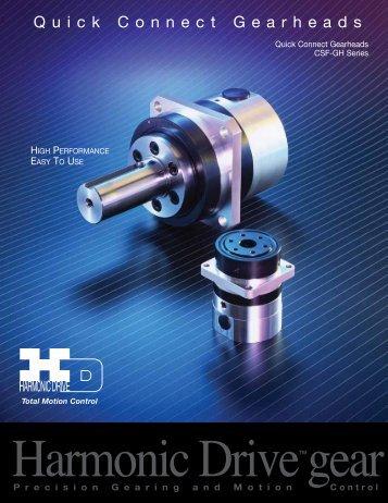 PDF Catalog - Harmonic Drive LLC