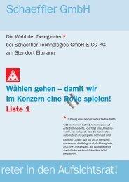 Grundlayout:Layout 1 - Schaeffler-Nachrichten der IG Metall: Startseite