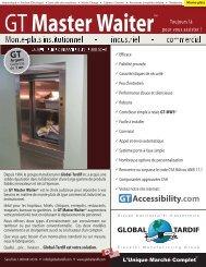 GT Master Waiter - Global Tardif Groupe manufacturier d'ascenseurs