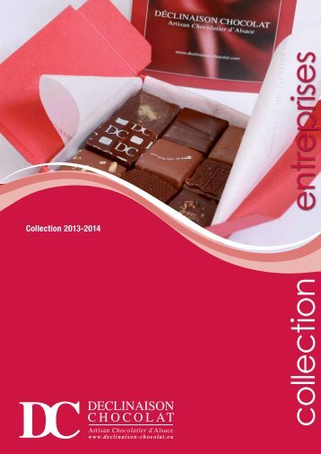 collection entreprises - Déclinaison Chocolat