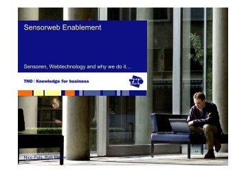 Sensorweb Enablement