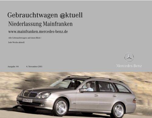 Aktuelle Gebrauchtwagen - Mercedes-Benz Niederlassung ...