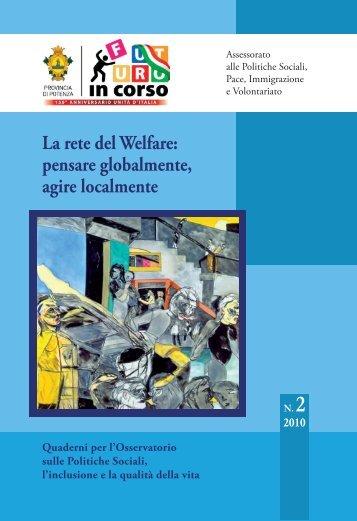 Report Osservatorio 2009-2010 - Provincia di Potenza