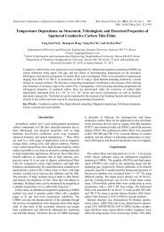 Temperature Dependence of Sputtered Conductive Carbon Thin ...