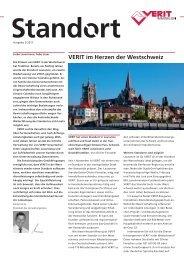 VERIT im Herzen der Westschweiz - VERIT Immobilien