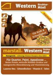 Luzerne Heu - Erbsenflocken - Vitamin E - Selen - Marstall