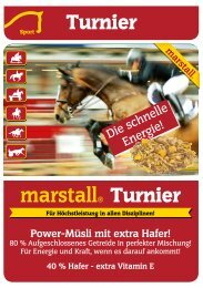 40 % Hafer - Marstall