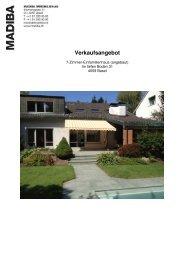Verkaufsdokumentation_Im tiefen Boden 31 - Madiba Immobilien AG