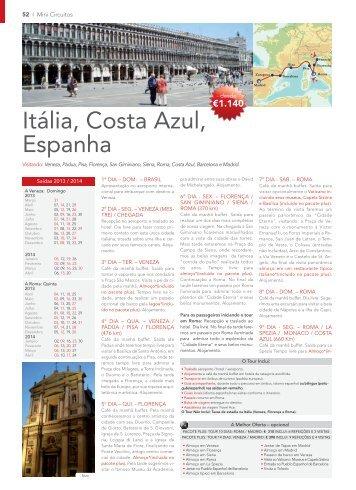 Itália, Costa Azul, Espanha (PDF) - Mapaplus