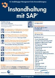Instandhaltung mit SAP - Maintenance and Facility Management ...