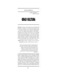 Božović, Ratko - Grad i kultura, Časopis Kultura 122