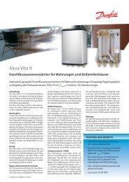 Akva Vita II - Fernwärme-Komponenten