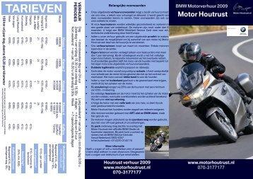 TARIEVEN - Motor Houtrust