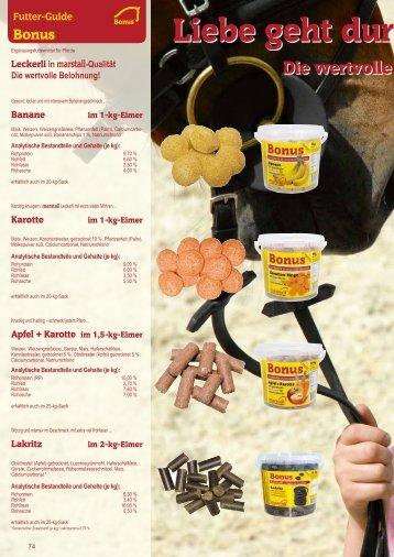 Futter-Guide - Marstall