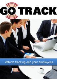 Vehicle tracking and your employees - GPS Vehicle Tracking System