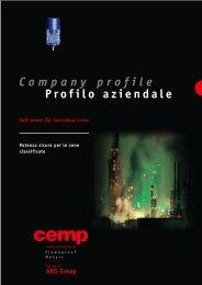 Profilo aziendale Company profile - CEMP