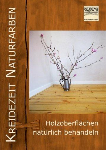 Oberflächenbehandlung - Thoma Holz GmbH